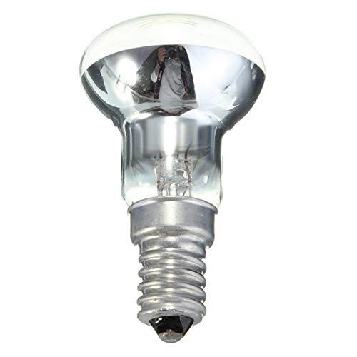 ShunFuET 30W Lava Lampe Ersatzbirne, 2er Pack Edison Bulb E14 Leuchtenhalter R39 Reflektor Spot Glühbirne Lava Lampe Glühlampe für die Wohnküche (Warmweiß 2700K)