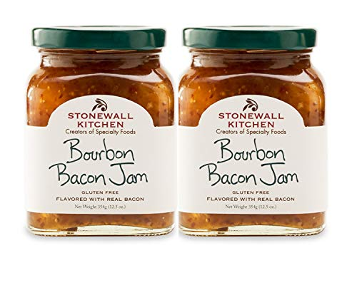 Stonewall Kitchen Bourbon Bacon Jam, 2 - 12.5 ounce jars