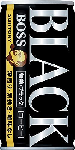 ボス 無糖ブラック 185g×30本 缶