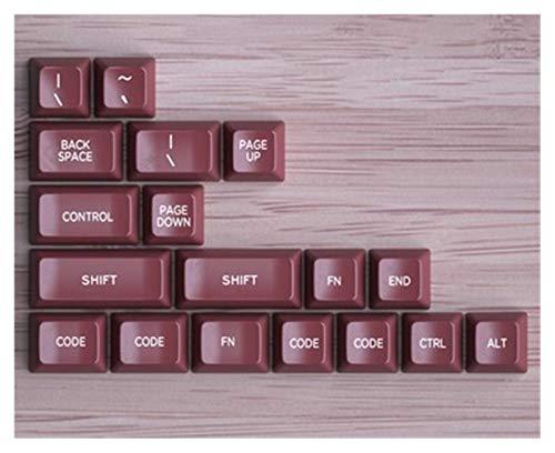 juqingshanghang1 Retor-Keycaps Setzen Sie ABS-Tastatur-Kappe, kompatibel für mechanische Tastatur 104 Key SA-Profil (Color : KIT 1)
