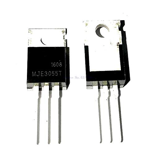 10pcs/lot Bipolar (BJT) Transistor NPN 60V 10A 2MHz 75W Through Hole TO-220AB MJE3055T