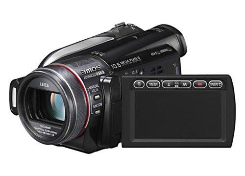 Panasonic HDC-HS300 EG-K Full HD-Camcorder (SD/SDHC-Card, 120 GB Festplatte, 12-fach opt. Zoom, 6,9 cm (2,7 Zoll) Display) schwarz
