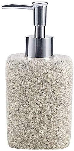 Dispensadores de jabón de encimera de baño, Dispensador de jabón Resina Líquido Líquido Loción Dispensador Bomba de dispensador Presione la botella de loción Botella de gel de ducha de jabón de mano e