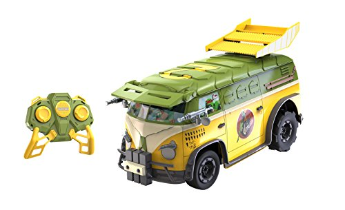 Toy State Teenage Mutant Ninja Turtles RC Party Van Radio Control Vehicle (1:16 Scale)
