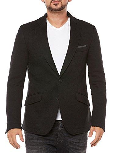 Antony Morato Herren Sakko Blazer Anzugjacke Anzug Jacket (48, Schwarz)