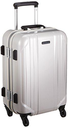 [ワールドトラベラー] スーツケース サグレス ストッパー付 機内持ち込み可 31L 48 cm 3.5kg ホワイトカーボン