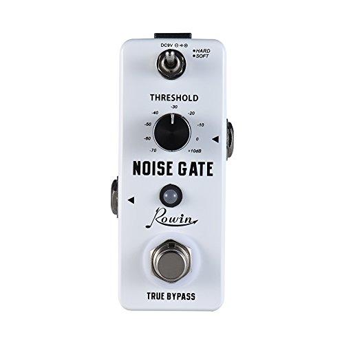 Muslady Noise Gate Gitarre Effektpedal Lärm Die Ermäßigung 2 Modi Aluminium Legierung Schale Wahr Bypass Rowin
