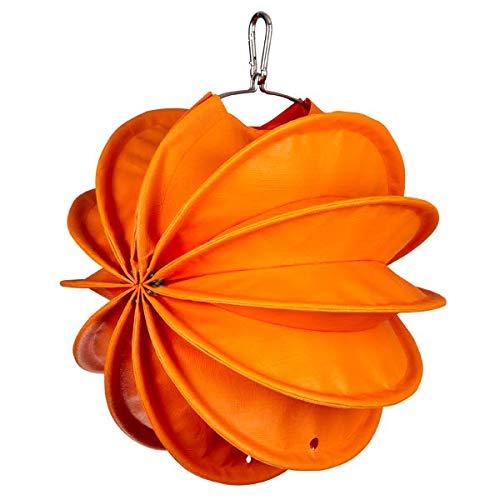 Lampion Barlooon I Wetterfester Lampion mit Beleuchtungs- und Montageset I Grösse S (Ø 30 cm) I Farbe orange I Beleuchtung I Garten und Terrasse I Handarbeit aus Deutschland