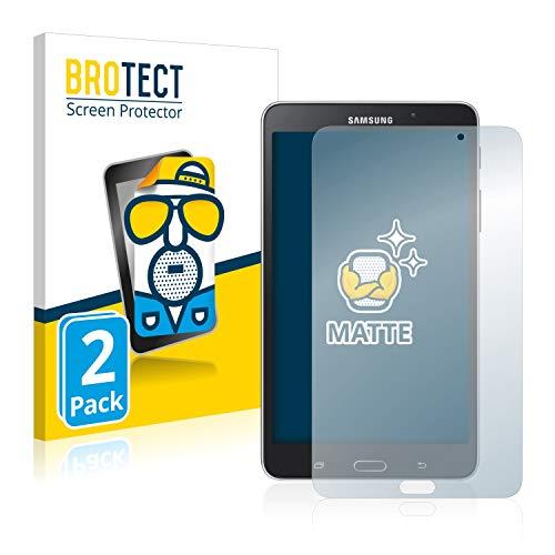 BROTECT Protector Pantalla Anti-Reflejos Compatible con Samsung Galaxy Tab 4 (7.0) WiFi SM-T230 (2 Unidades) Pelicula Mate Anti-Huellas