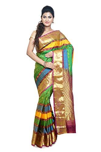 Sudarshan Kanchipuram SAREE-Cream-PSS1-MM-Silk