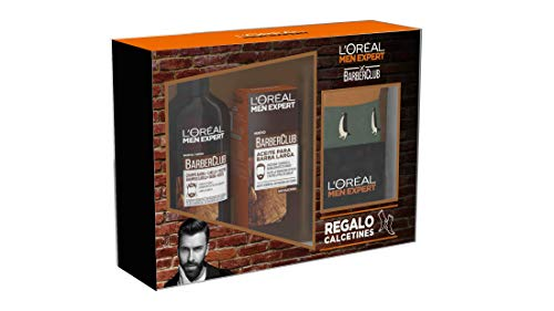 Men Expert Barber Club Champú 3 en 1 y Aceite para Barba Larga