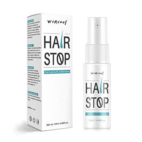Spray de depilación, inhibidor y reductor del vello para detener el crecimiento del vello, para brazos / axilas / piernas / ingredientes suaves Depilatorio en spray no irritante Depilatorios Producto