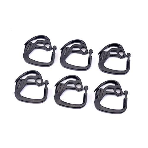 TiKiNi Ganchos para la red Shade Net Hook, 100 unidades, Pe Durable Shading Hooks para invernadero, shading Shading Hook