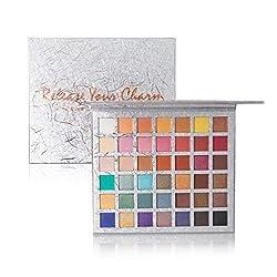 Ofertas Tienda de maquillaje: Paleta de sombras de ojos de 42 colores. Ven con tantos colores hermosos y todos los tonos se mezclan y pigmentan fácilmente, para que puedas crear un look de maquillaje sin fin de día a noche o de natural a glamour. Altamente pigmentado. La paleta d...