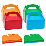 INHEMING 20 Piezas Cajas para Dulces Coloridas para Fiestas – Cajitas Regalo para Cumpleaños, Baby Shower y Bodas
