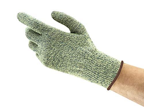 Ansell Vantage 70-750 Gants de protection contre les coupures, protection mécanique, Jaune, Taille 10 (Sachet de 12 paires)