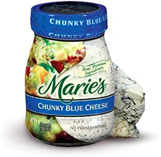 MARIE'S REFRIGERATED SALAD DRESSING CHUNKY BLUE CHEESE 12 OZ PACK OF 3