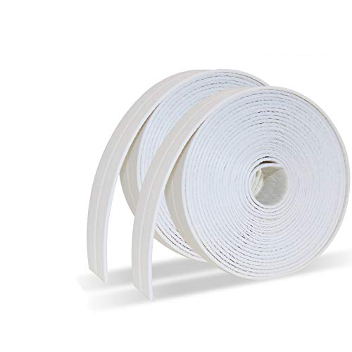 Caulk Strip PE Self Adhesive Tape for Bathtub Bathroom Shower Toilet Kitchen and Wall Sealing...