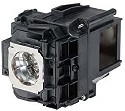 ELP-LP76 Epson Projector Lamp Replacement. Projector Lamp Assembly with Genuine Original Osram P-VIP Bulb inside.
