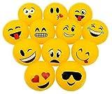 CVN 2 Dozen(24) Fun Emoji Beach Ball Inflates (12' ea) Party / Decor