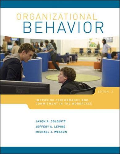 Top organizational behavior colquitt 3rd edition for 2020