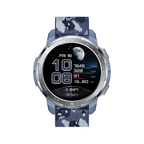 LXZ Männer Neue Globale Version Smart Watch GS Pro Smart Watch 1,39 '' AMOLED Display-Puls-Monitor-Blut-Sauerstoff-Bluetooth Anruf 5ATM,A