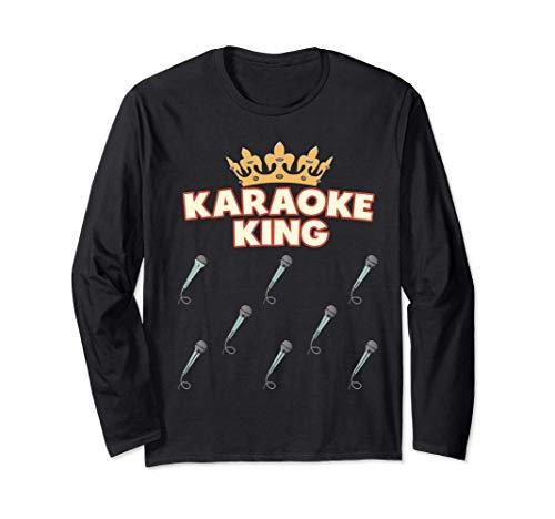Karaoke King - Divertido micrófono de karaoke Manga Larga