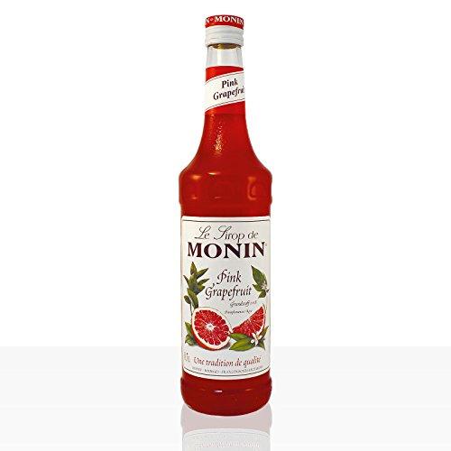Monin Sirup Pink Grapefruit, 0,7L 3er Pack