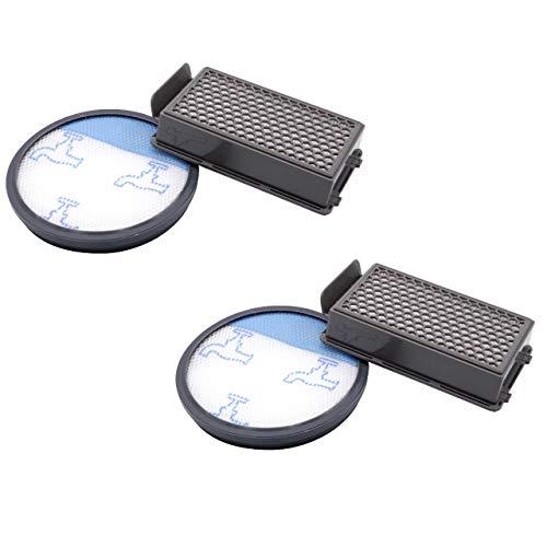 vhbw Set de filtros aspirador, 4 piezas, para Rowenta RO3718EA, RO3724EA, RO3731EA, RO3753EA, RO3786EA, RO3798EA Aspirador hepa.