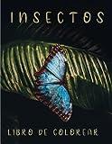 Insectos Libro de Colorear: 50 ilustraciones de insectos
