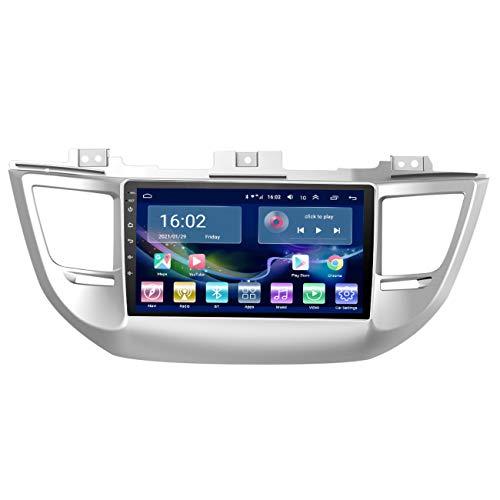 9' IPS Android 10 para HYUNDAI Tucson 2015-2018, Radio de coche Multimedia Navegación GPS Navi Player Auto Estéreo WIFI 2 din,4g+wifi 1g+32g