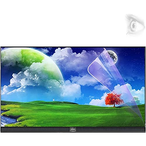LKJHG Protector De Pantalla De Televisión De 60-75 Pulgadas, Anti-Reflexión/Protección Radiológica/Anti-Miitopía, Adecuado para Sharp, Sony, Pantalla Curva, Samsung,70in 1561 * 900mm