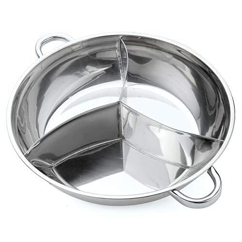 DHXYII Koekenpan 18Cm Twee-Oor Emaille Pot Huishoudelijke Verdikte Soeppot Stoofpot Gas Inductie Cooker Algemeen Doel Cooker Australia 400mm