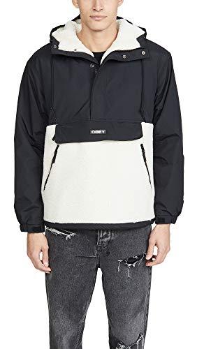Obey giacca Splits Sherpa Anorak black-S