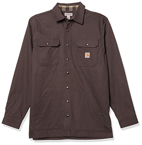 Carhartt Mens Weathered Canvas Shirt Jackets