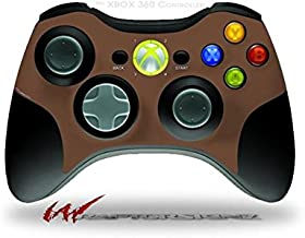 XBOX 360 Wireless Controller Decal Style Skin - Solids Collection Chocolate Brown (CONTROLLER NOT INCLUDED)