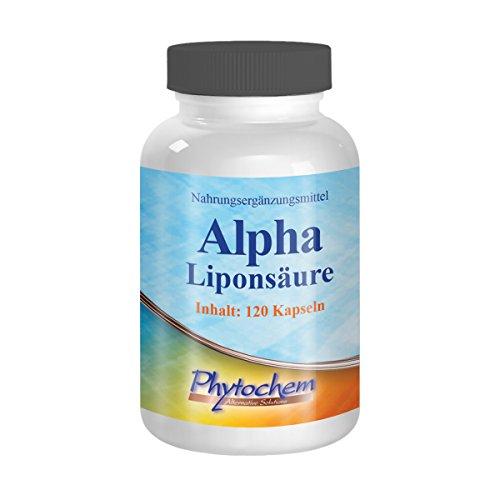 ALPHA LIPONSÄURE | 250 mg reine Alphaliponsäure pro Kapsel | 120 Kapseln | Premium Qualität aus Deutschland