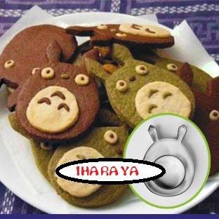 【IHARAYA】トトロクッキー型3種セット
