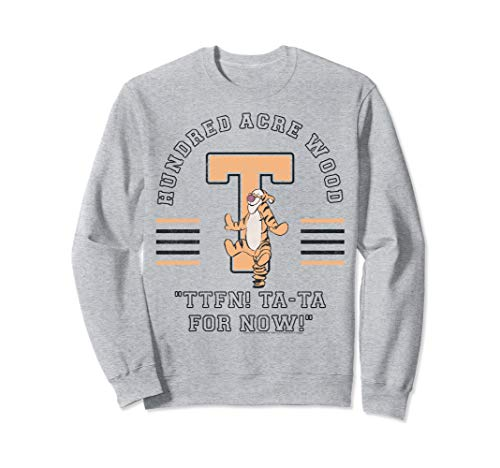 Disney Winnie The Pooh Tigger Hundred Acre Wood TTFN Sweatshirt