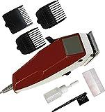 NEXTTECH Corded Hair Trimmer Zero Machine For Men (Red)