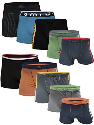 5 10 Stück Boxershorts Jungen Unterhosen Unterwäsche Kinder (XXL, 10.Stück)