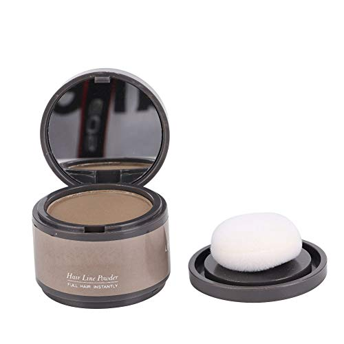Hairline Shadow Powder Hair Line Powder Hairline Beauty Cosmetics for Filling in Thinning Hair, Hairline Shadow Powder With a Puff and Mirror for Wome