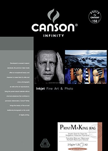 CANSON Papel Foto Infinity BFK Rives A3 310g 25 Folhas - CANSONCSN6111007