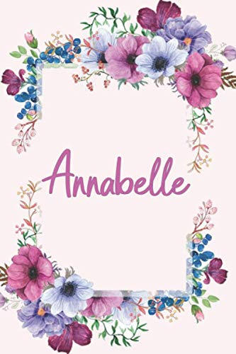 Annabelle: 120 pages (6'x9') PINK,...