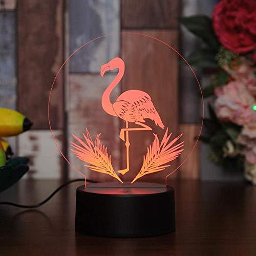 Creative Desktop 3D Nachtlampe für DIY LED Nachtlicht USB Nachttisch 3D Lampe kann im Großhandel angepasst werden