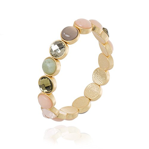 Sence Copenhagen Damen-Armband Messing One Size, gold