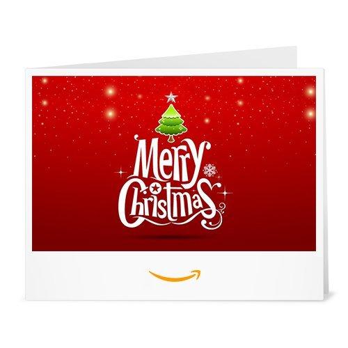 Cheque Regalo de Amazon.es - Imprimir - Merry Christmas