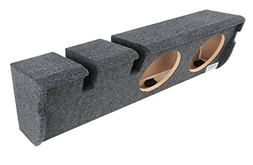 """Bbox A352-10CP Dual 10"""" Sealed Carpeted Subwoofer Enclosure - Fits 1997-2003 Ford F150 Super Crew"""