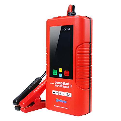 Lowest Prices! C-158 1000A 12-Volt Car Emergency Battery Jump Starter Pack (No Battery), Ultra Capac...