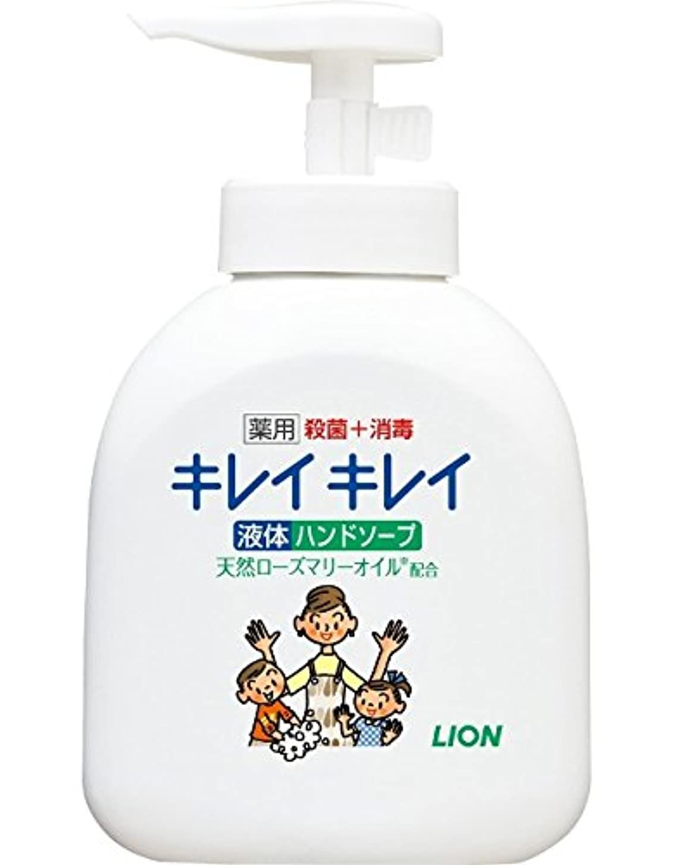 窓を洗う債務者バックグラウンドキレイキレイ 薬用 液体ハンドソープ 本体ポンプ 250ml(医薬部外品)